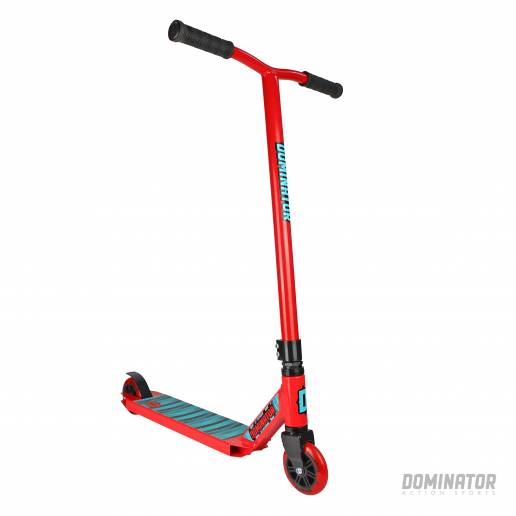 Dominator Cadet Complete Scooter - Red / Red 100