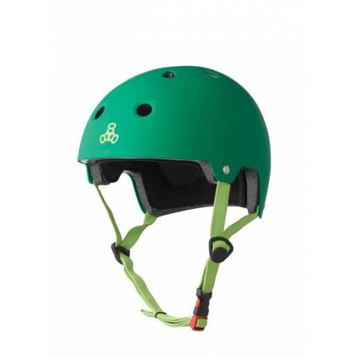 Triple Eight - Helmet Kelly Green Rubber XS/S