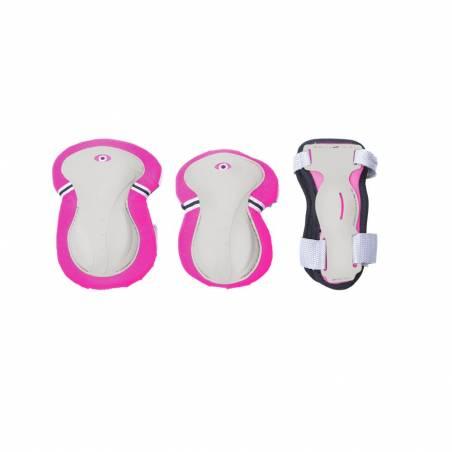 Globber kelių, alkūnių ir riešų apsaugų rinkinys XS (Pink) nuo Globber