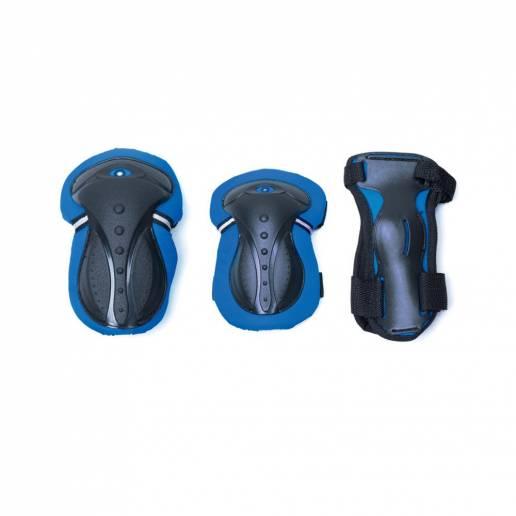 Globber kelių, alkūnių ir riešų apsaugų rinkinys XXS blue