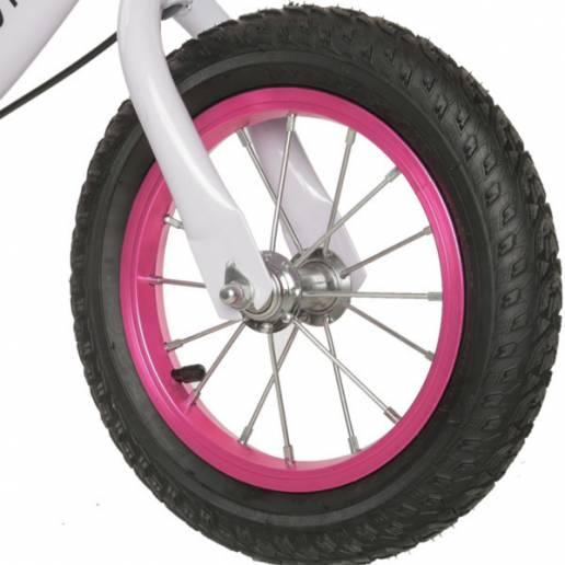Balansinis dviratukas Movino Adventure White/Rose nuo Movino