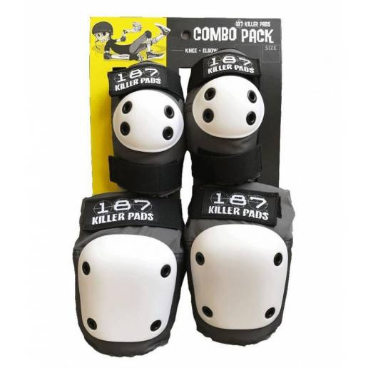 187 Combo Pack multi-sport kelių ir alkūnių apsaugos XS ADULT