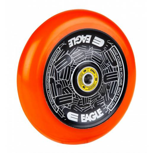 2 x Eagle Supply 115 mm Hollowtech Black/Orange - Riteņi