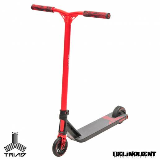 Triad Delinquent Black Red