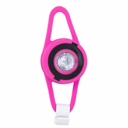 Globber švieselė vaikiškam paspirtukui Neon Pink