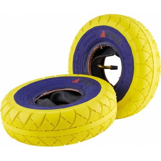 Rocker Street Pro Mini BMX Tires (Yellow/Bluewall)