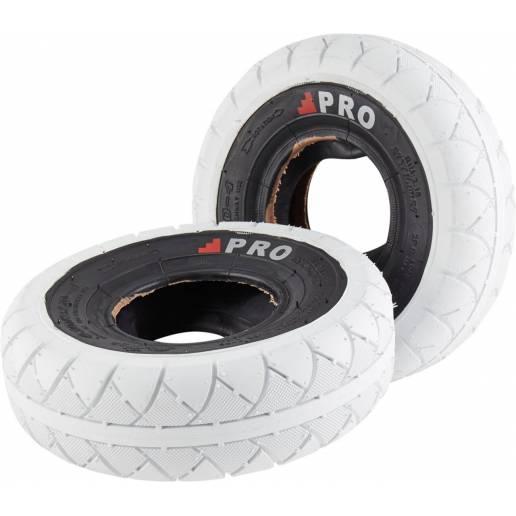 Rocker Street Pro Mini BMX Tires (White/Blackwall)