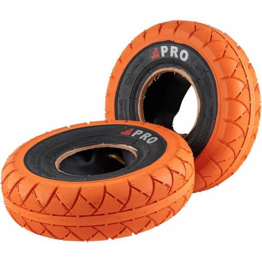 Rocker Street Pro Mini BMX Tires (Orange/Blackwall)