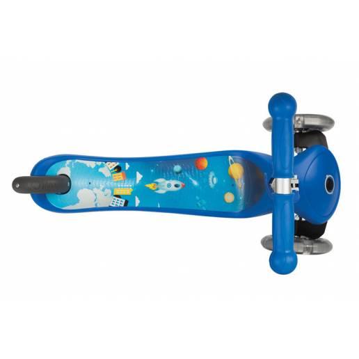 Vaikiškas paspirtukas Globber ROCKET su LED ratukais