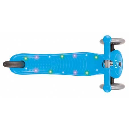 Paspirtukas su LED platforma Globber PRIMO STARLIGHT / sky blue nuo Globber