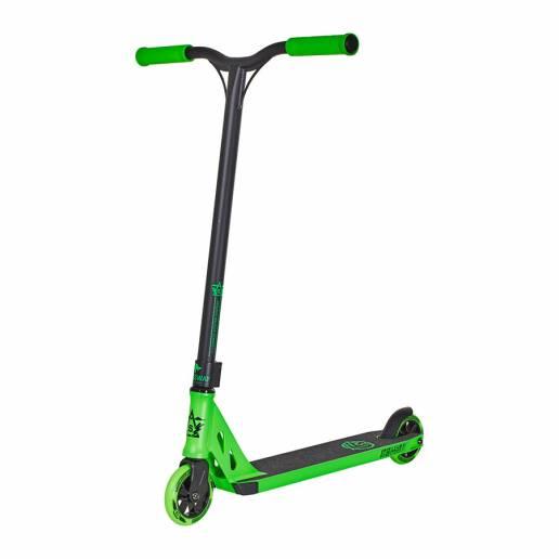 Longway Summit Pro Scooter Black/Green 110
