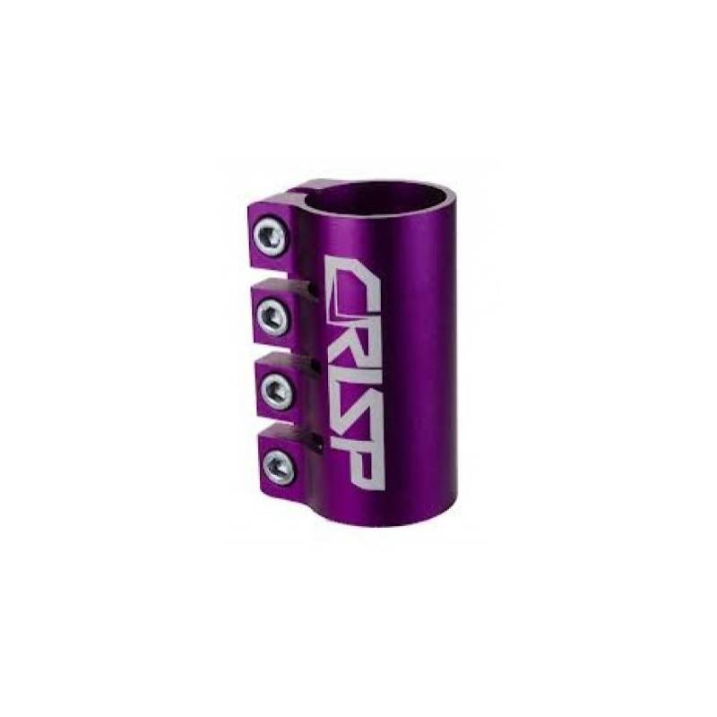 Crisp Oversized Quad Clamp - Anodized Purple nuo District