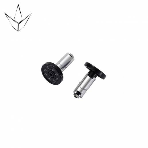 Blunt Bar Ends Alloy Black
