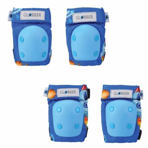 Globber kelių ir alkūnių apsaugų rinkinys XXS (Blue) nuo Globber