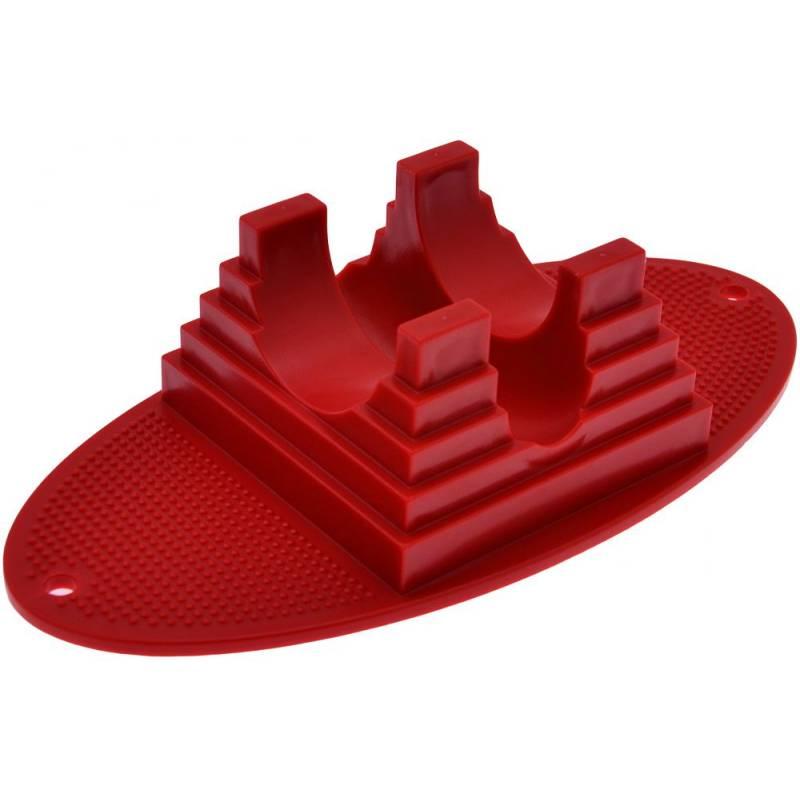 Streetboards Triukinio paspirtuko stovas raudonas nuo Streetboards