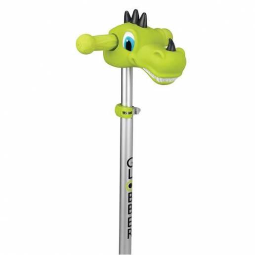 Globber vairo dekoracija Dino Green - Skrejriteņi ar trīs riteņiem