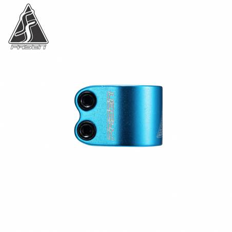 Fasen clamp 2 Bolts Teal - Stūres savilcēji (Clamps)