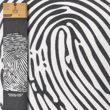 Skaidrus švitrinis popierius Triad Oath Finger Print Black clear nuo Triad