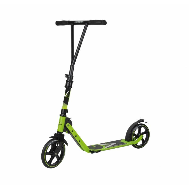 Hudora BigWheel Generation V 205 Lime green - Pilsetas skrejriteņi