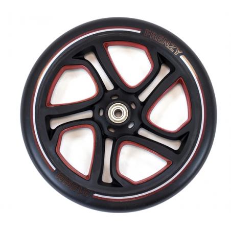 Paspirtuko ratas Frenzy 215 mm RED su guoliais nuo Frenzy
