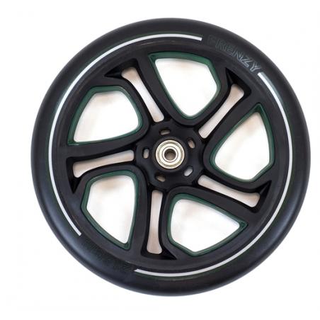 Paspirtuko ratas Frenzy 215 mm Green su guoliais nuo Frenzy