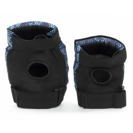 Kelių ir alkūnių apsaugos REKD Youth Heavy duty Black/Blue L - Aizsargi