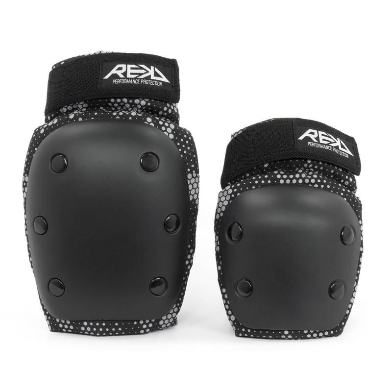 REKD Youth Heavy duty Black/Grey S - Aizsargi