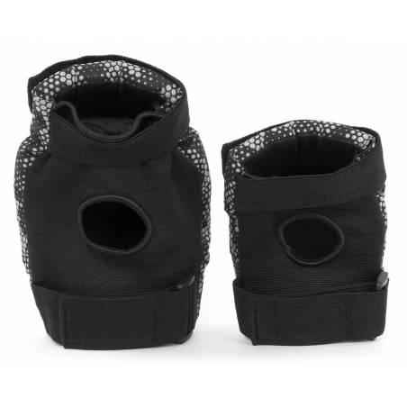 Kelių ir alkūnių apsaugos REKD Youth Heavy duty Black/Grey S nuo REKD