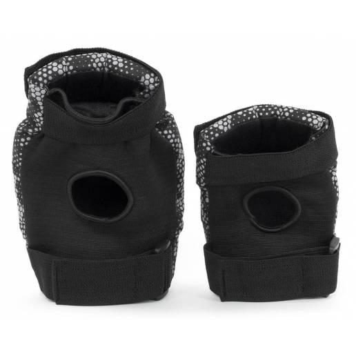 REKD Youth Heavy duty Double Padset Black/Grey M - Aizsargi