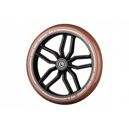 SHULZ Brown paspirtuko ratas 200 mm su guoliais nuo SHULZ