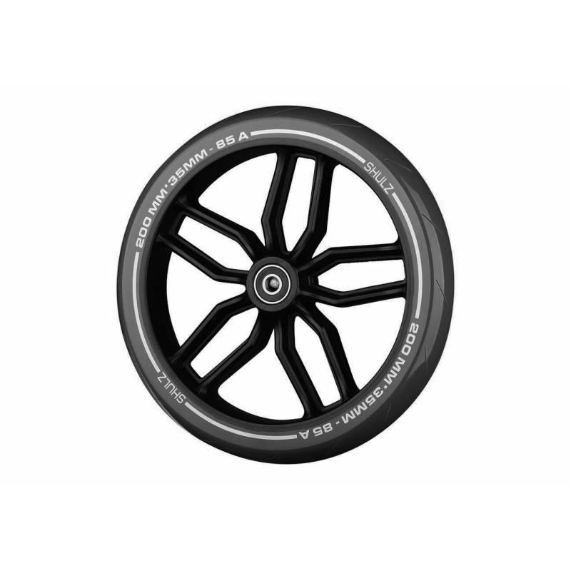 SHULZ Black paspirtuko ratas 200 mm su guoliais nuo SHULZ