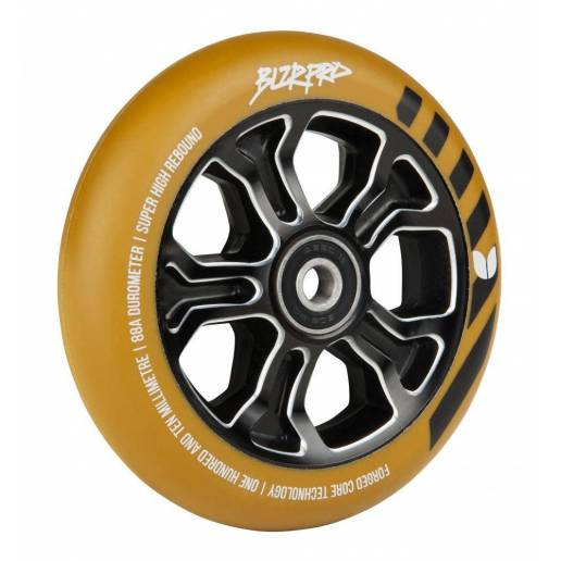 2 X Blazer Pro Rebellion Forged (Gum/Black) 110mm - Riteņi