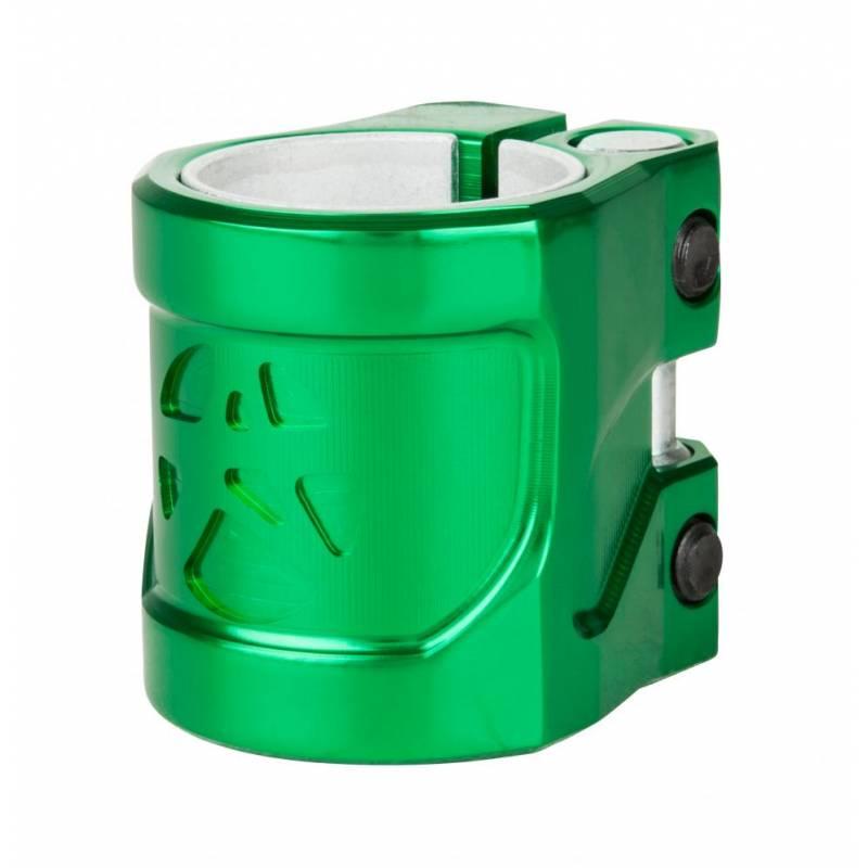 Addict Shield Clamp (Bottle Green) - Stūres savilcēji (Clamps)