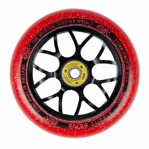 2 X Eagle Supply Standard X6 Core Candy (Black/Red 110 - Riteņi