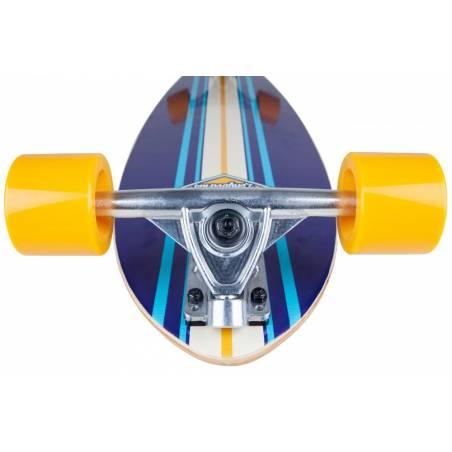 Longboardas D-Street Tropical 35″ Pintail Blue nuo D-Street